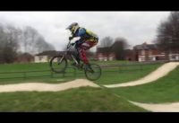 Shaping the jumps bmx racing training part 2