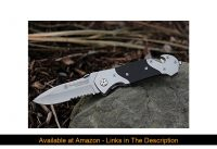 ⚡️ Smith & Wesson SWFRS 8in High Carbon S.S. Folding Knife with 3.3in Drop Point Serrated Blade and