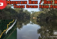 Spring Farm Mountain Bike / Dirt Bike Track (Crossed An Old Dam Wall)