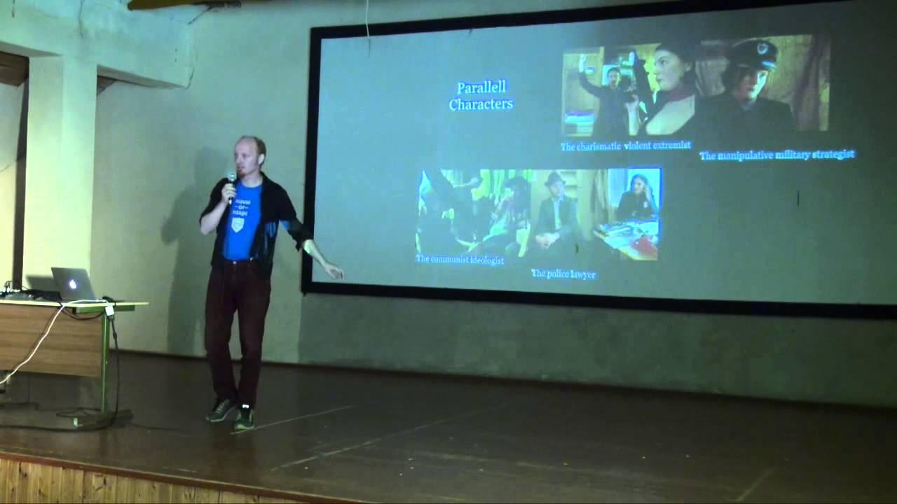 The Baader Meinhof Experiment BMX - Larp Presentation - Larpwriter Summer School 2015