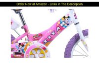 ❄️ Titan Girl's Flower Princess BMX Bike, Pink, 16-Inch