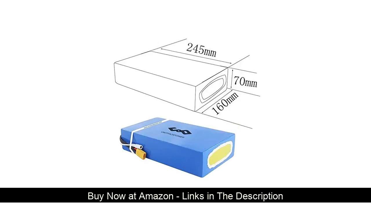 ☀️ UnitPackPower 1800W 48V Electric Bike Battery, 48V 20AH Ebike Battery for 1800W 1500W 1000W 750W