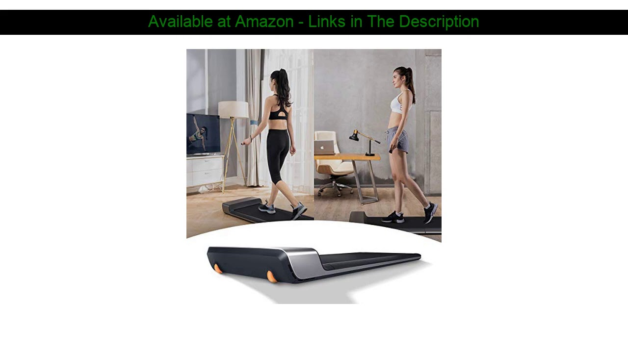 ☄️ WALKINGPAD A1 Smart Folding Treadmill Under Desk Portable Kingsmith Walking Pad Digital Electric
