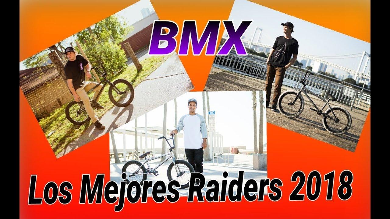 los mejores riders de bmx  2018
