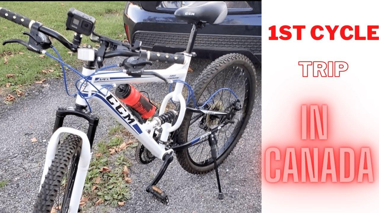 1st Cycle Trip | To Niagara Falls | GOpro Hero 8 Black | Mountain Bike