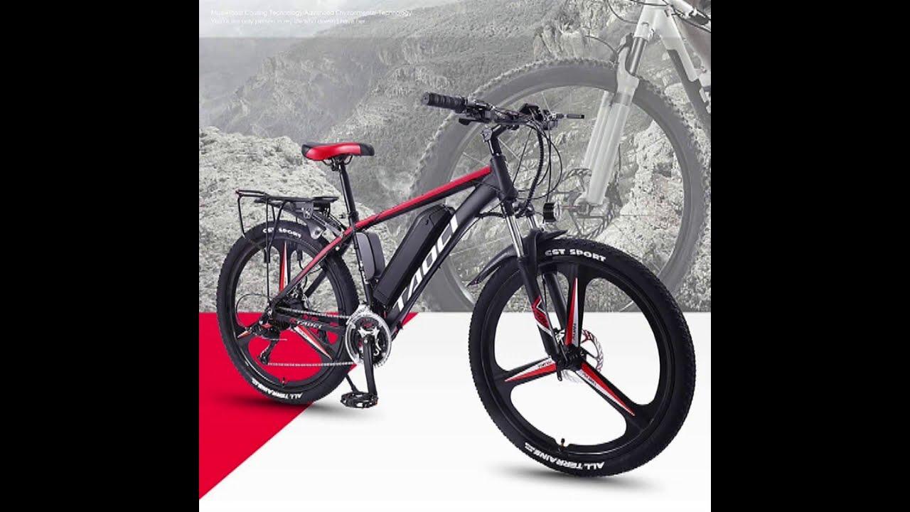 26 Inch Electric Bike Mountain Electric Bicycle Lithium Battery E bike 27 speed Aluminum alloy ebike
