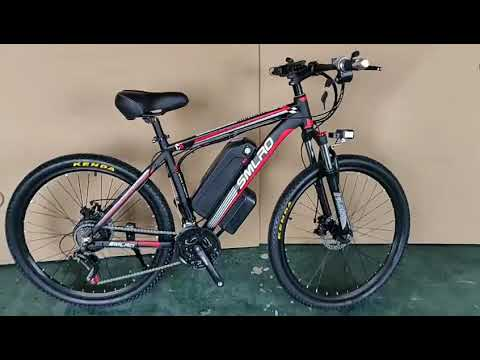 26inch Electric Bicycle 1000W Powerful 45kmh Mountain Bike 48V 13Ah Lithium Battery 5 Level Pedal As