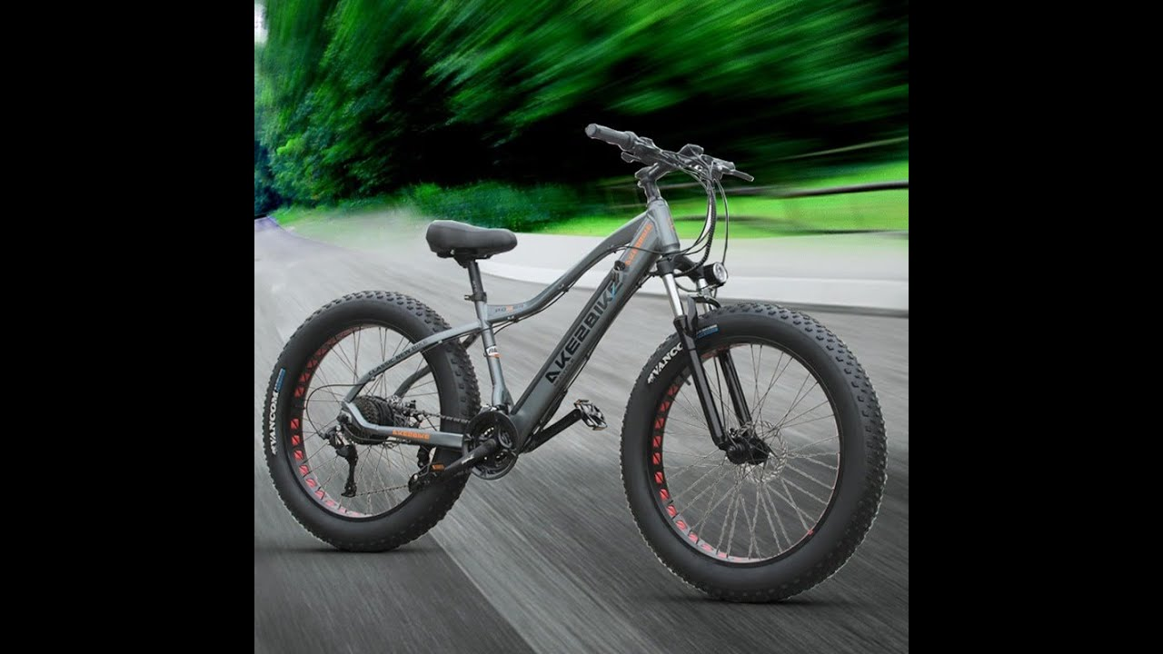 26inch electric mountain bicycle 48V500W fat ebike 4 0 snow tire electric bike Beach snow e bike