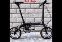 412 1416Inch YNHON Folding Bike Aluminun Alloy Kid Children's Bicycle Mini Modification Single speed