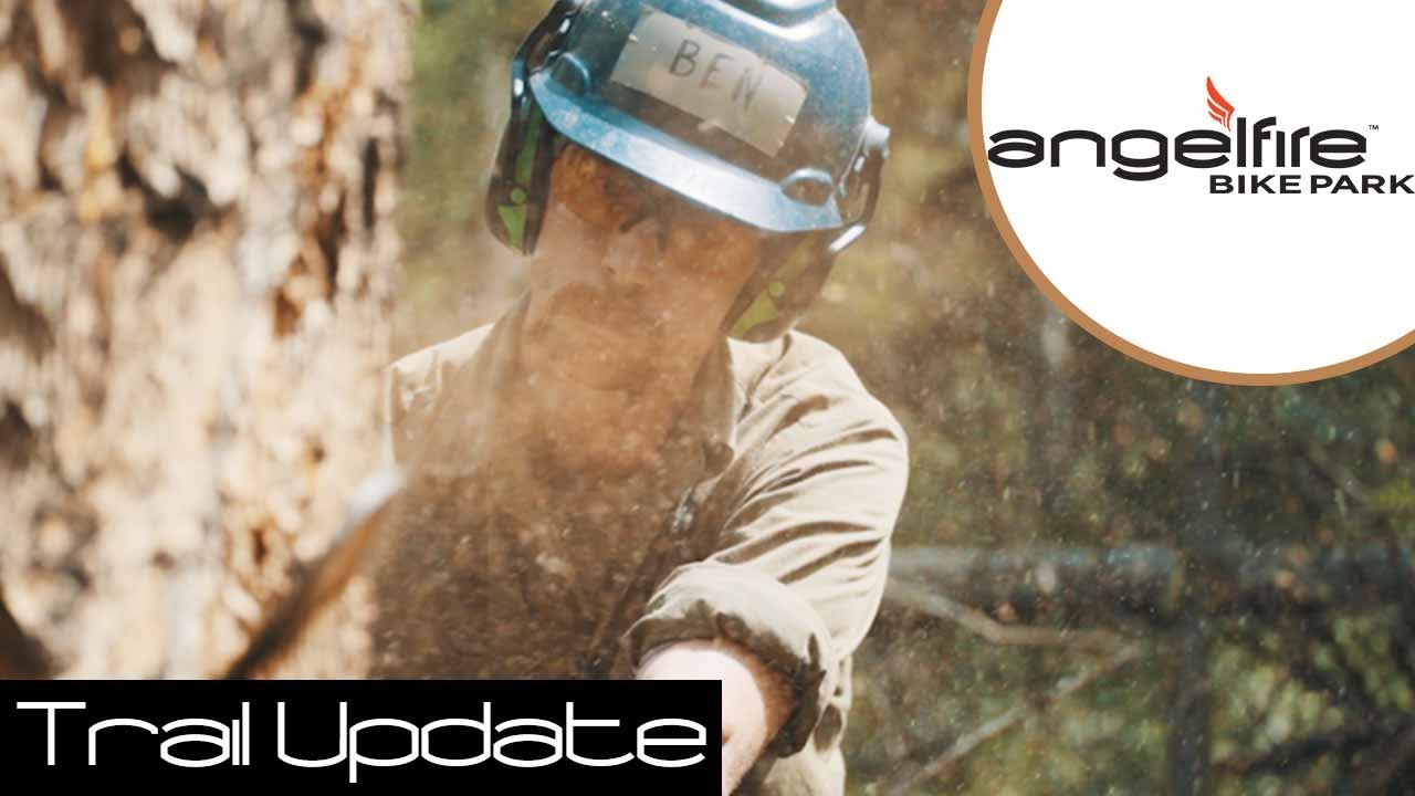 Angel Fire Bike Park: Hungry Hippo Trail Update
