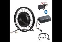 Bluetooth ! 72v 8000w QS V3 273 electric bike hub motor conversion kit with TFT colorful display