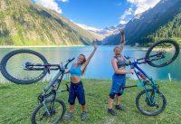 EXTREM GEILE BIKE TOUR IM ZILLERTAL - PFITSCHER JOCH 2020 / MTB STRECKE MIT MEGA TRAIL /Mountainbike