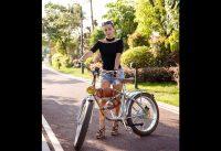 Electric bike 500W Electric Fat Bike Beach Retro Bike Cruiser Electric Bicycle Retro Electric Bike C