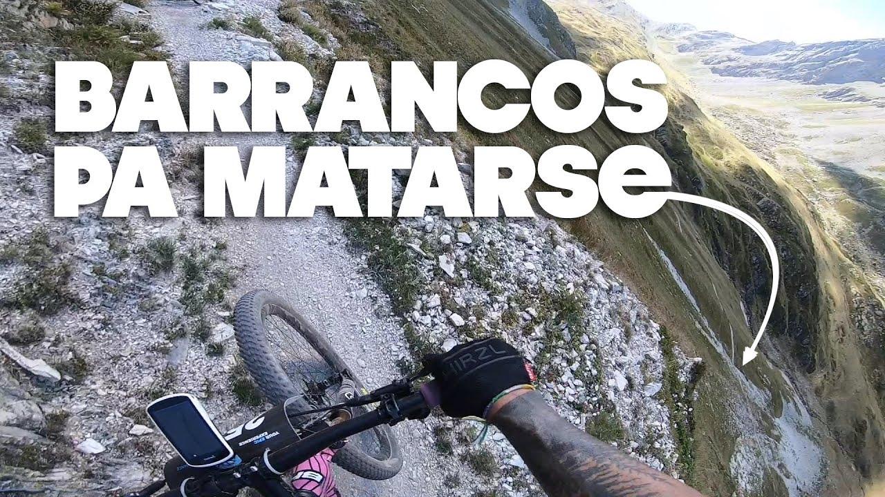 Mountain Bike en el Infierno | ALPS EPIC etapa 1 | Valentí Sanjuan y Saleta Castro