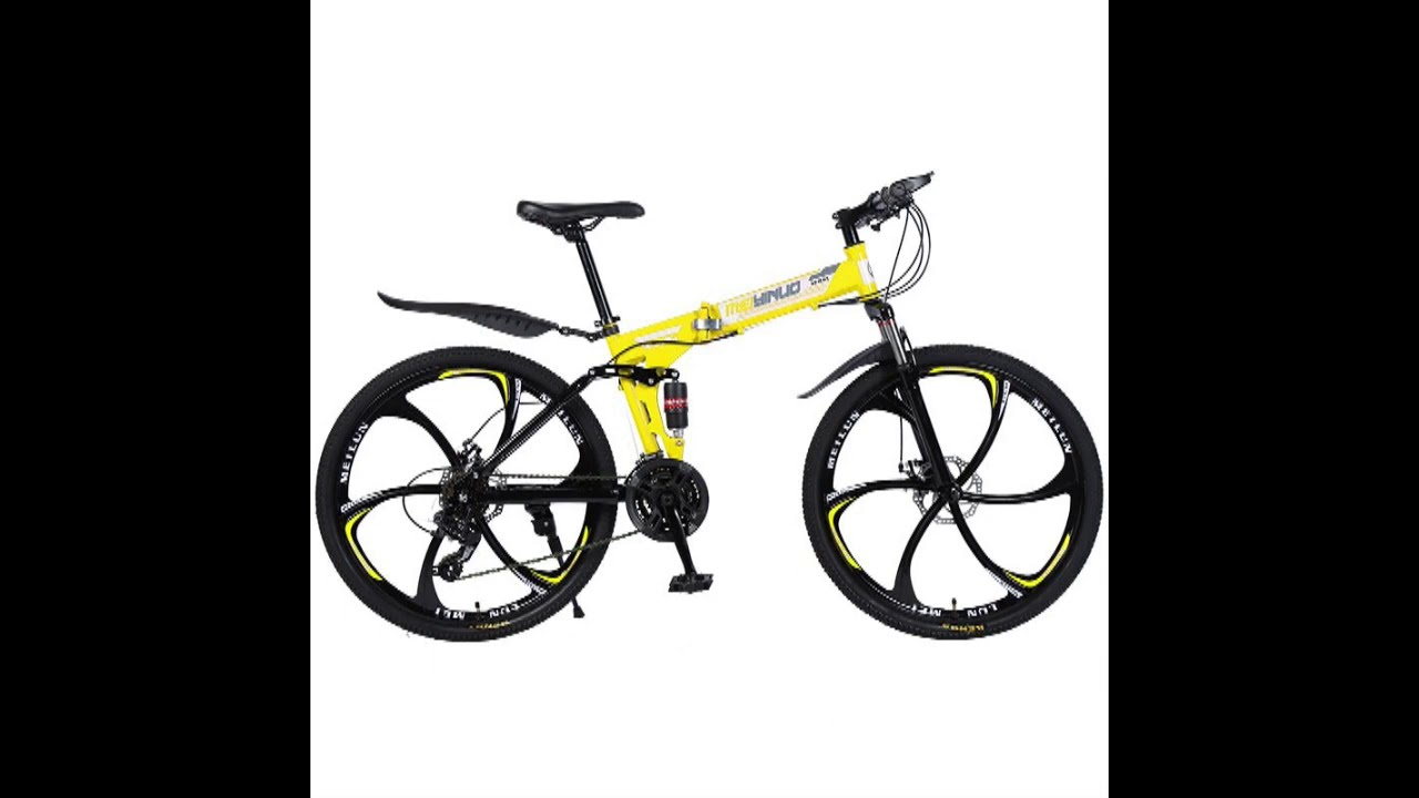Mountain road bike shock absorber bicycle 26 inch variable speed folding student car adult mens bicy