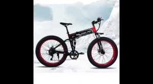 New Electric bicycle 500W Electric Beach Bike 4 0 Fat Tire Electric Bike 48V500W Mens Mountain Bikes