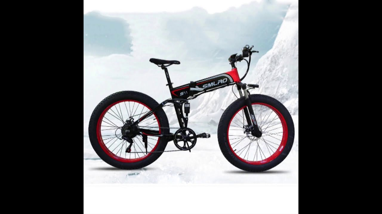New Electric bicycle 500W Electric Beach Bike 4 0 Fat Tire Electric Bike 48V500W Mens Mountain Bikes