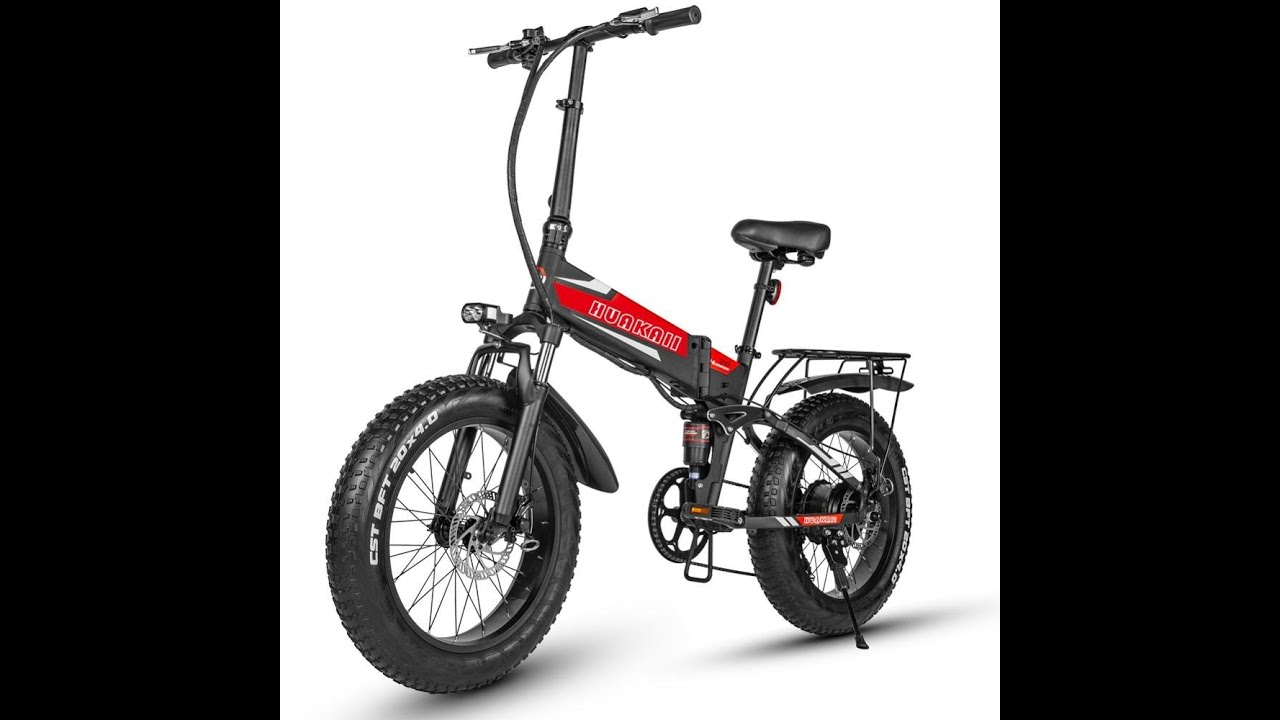 Pedal Assisted Rechargeable Bicycle Folding Ebike 500w 48v 12 8ah 20 Inch Fat Tire Electric Road Bik