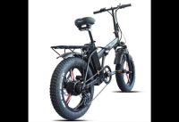Sheng milo Electric bike ebike 48V500W electric mountain bike electric folding bike 4 0 fat tire 48V