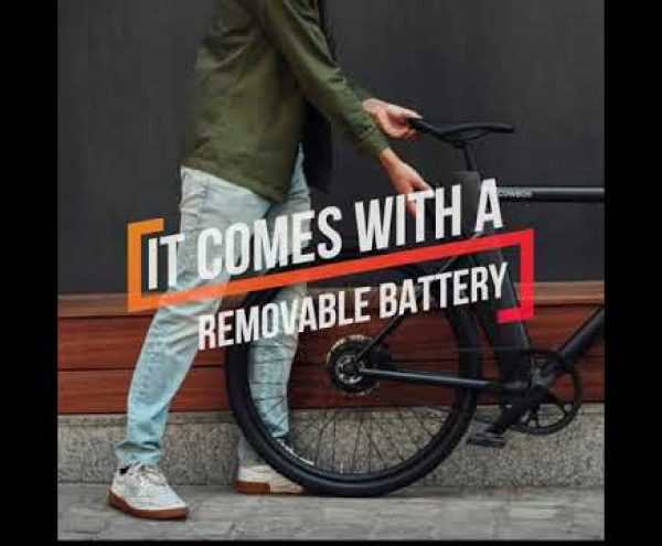 Cowboy 3 smart electric bike - Gadget Flow Promo