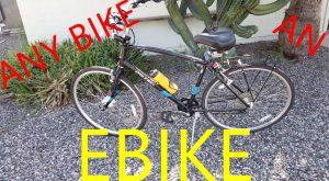 Any bike an electric bike